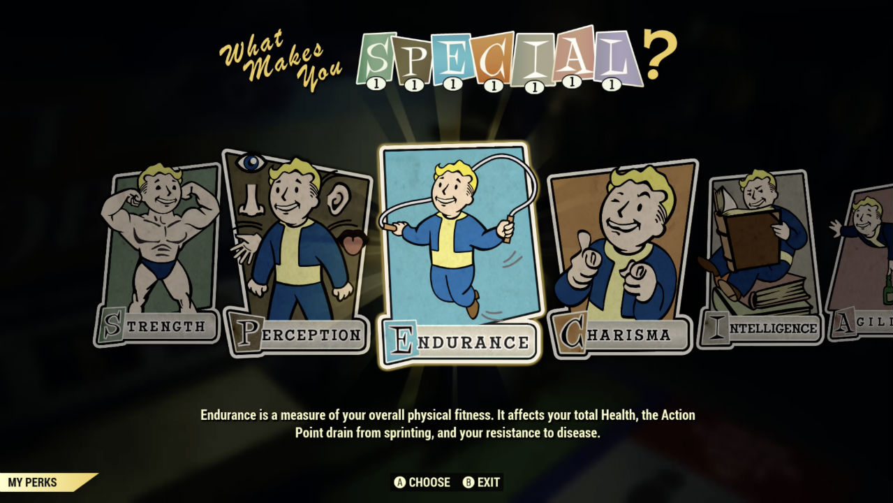 The best Fallout 76 perk cards to start you off and make you