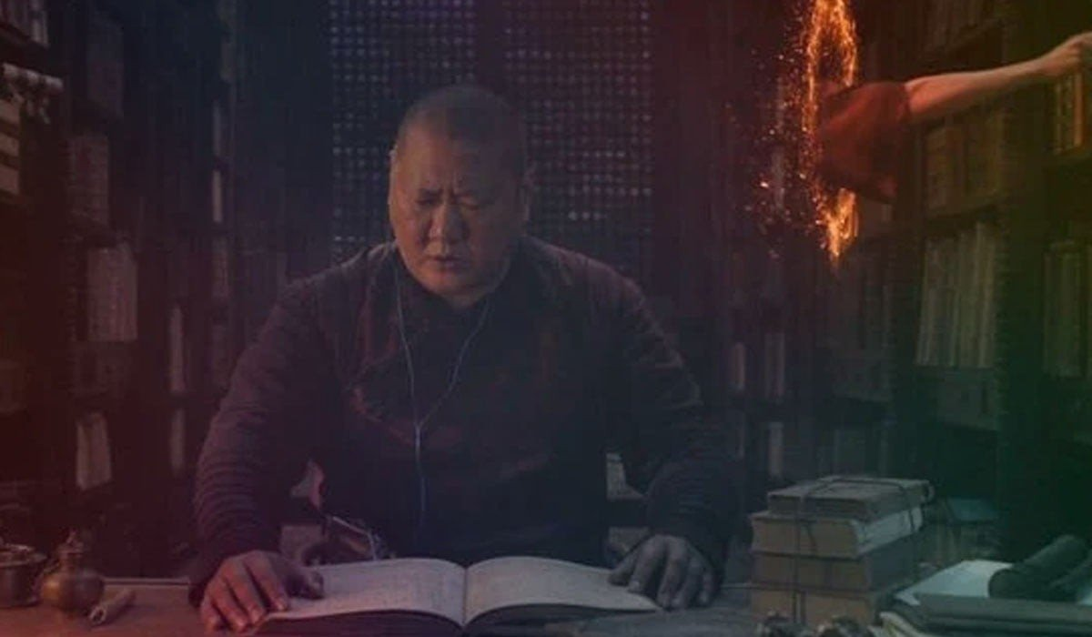 Wong and Doctor Strange Marvel