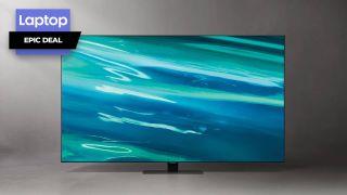 Samsung 75-inch QLED 4K Smart TV bundles $500