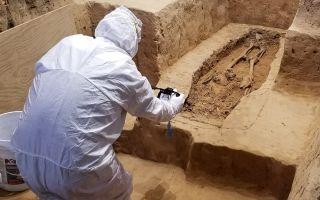 Jamestown Burial