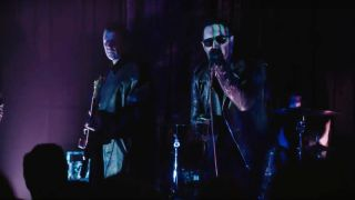 Nine Inch Nails perform on Twin Peaks