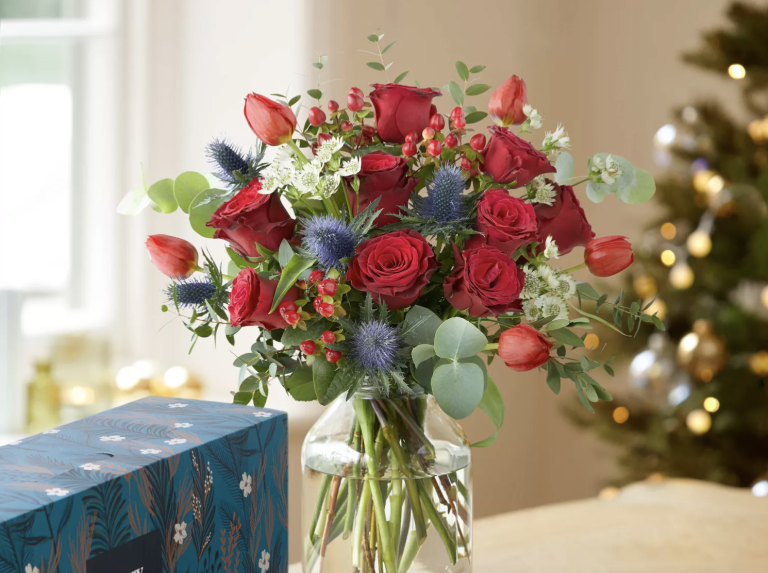Best flower delivery UK: where to order beautiful bouquets for Christmas