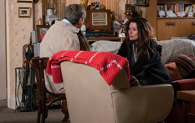 Coronation Street spoilers: Roy Cropper is shocked to find Carla in the flat