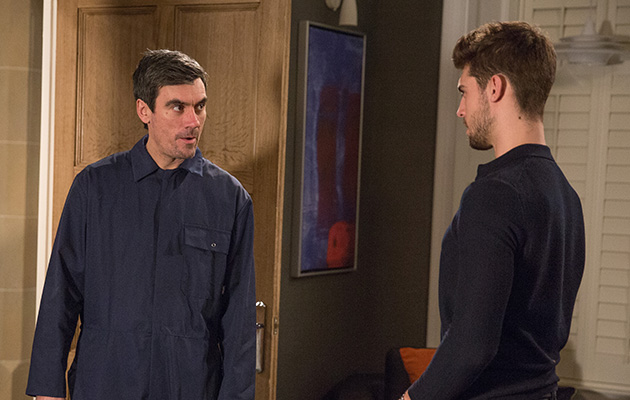 During a dramatic showdown will Cain Dingle whack Joe Tate?