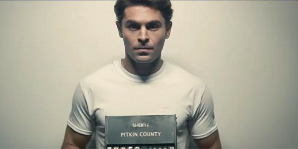 Zac Efron as Ted Bundy in Extremely Wicked, Shockingly Evil, And Vile