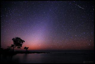 Quadrantid meteor shower on Jan. 4, 2012.