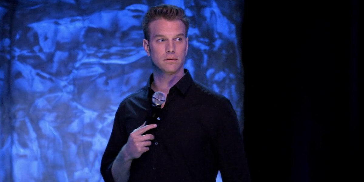 Anthony Jeselnik in his Netflix stand-up comedy special Thoughts and Prayers