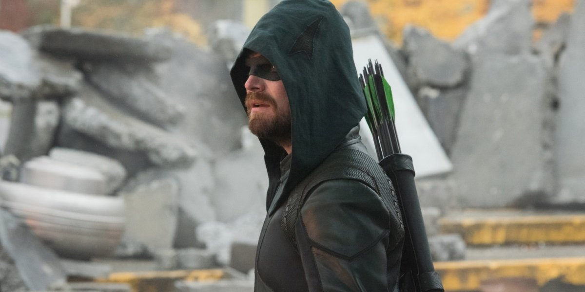 crisis on infinite earths oliver queen