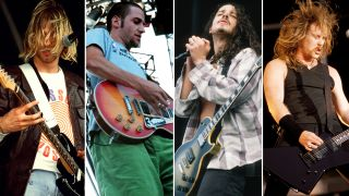 Greatest rock guitar albums of 1991