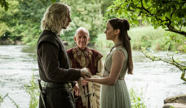 Game of Thrones Aisling Franciosi Lyanna Stark Wilf Scolding Rhaegar Targaryen HBO