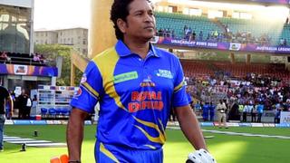 Indian cricketing legend Sachin Tendulkar