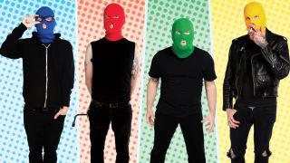 A promo picture of Madison, Wisconsin, pop punk band Masked Intruder
