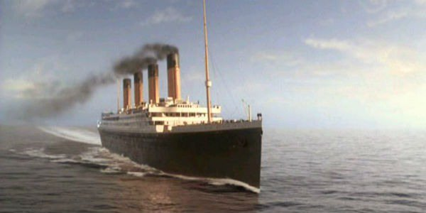 Titanic the ship in the movie