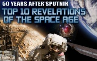 Top 10 Revelations of the Space Age