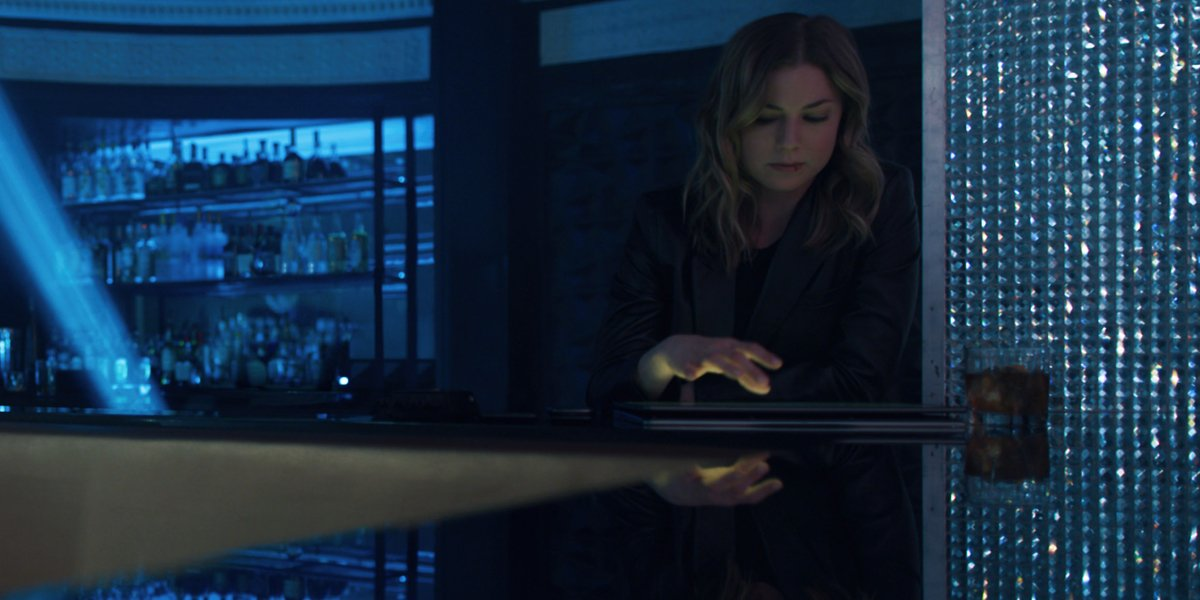 Emily Van Camp as Sharon Carter in The Falcon And The Winter Soldier