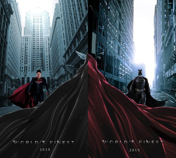 First Up For You We Actually Have A Twin Set Of Posters Created By DeviantArt User Blaze465 But Discovered On Batman Vs Superman Fan Page Facebook