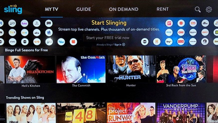 Sling TV Offering Free Content for Android and Amazon Devices