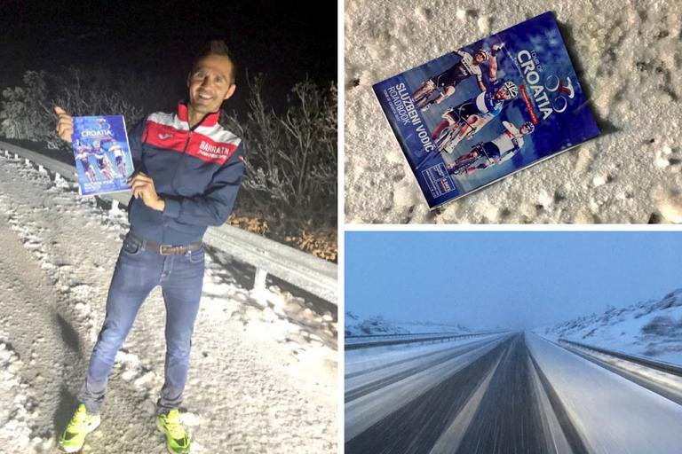 Tour of Croatia shortened due to snow, similar to the Tour of Alps.