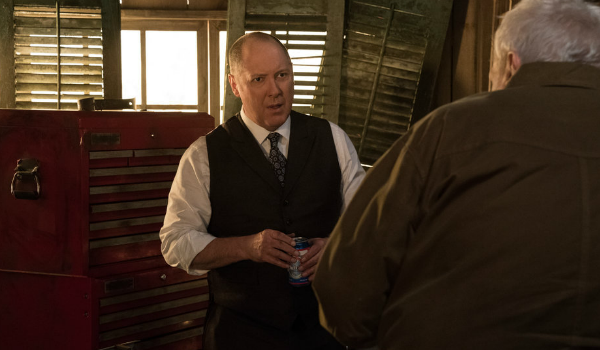 The Blacklist Raymond Red Reddington James Spader Dom Brian Dennehy NBC
