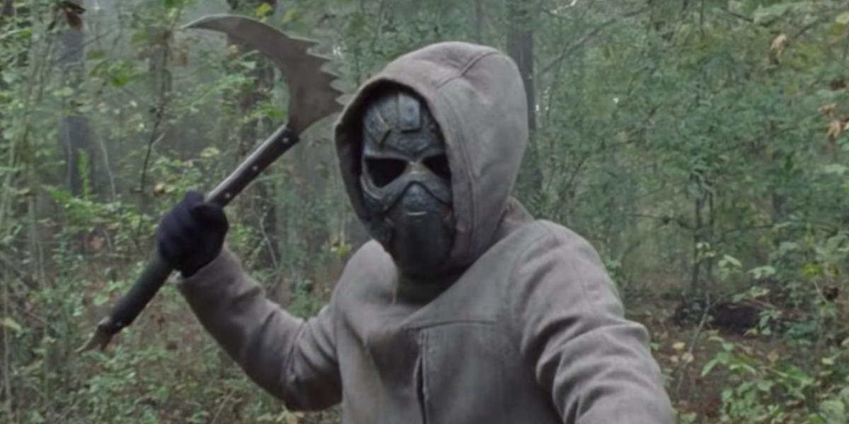 the walking dead season 10 masked character