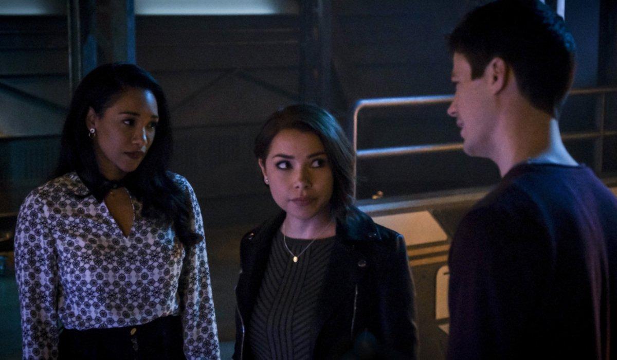 the flash season 5 iris nora barry the cw