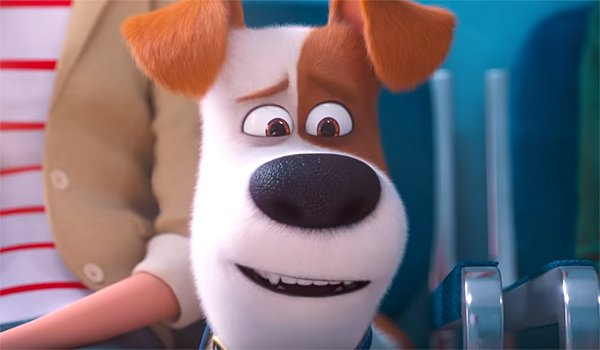 Max in The Secret Life of Pets 2 trailer