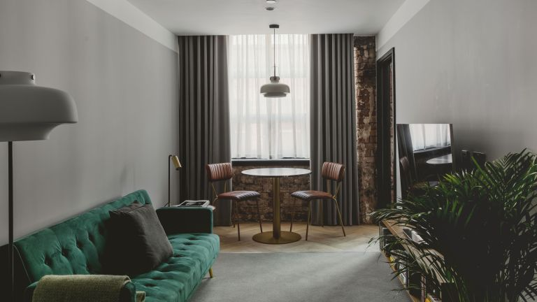 Retro style bedroom in Manchester