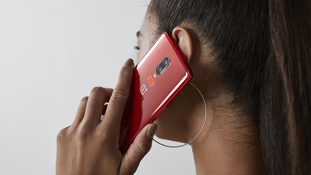 The OnePlus 6's latest color option is making us red with envy