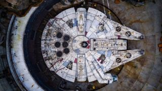 The Millennium Falcon is as magnificent as you might expect.