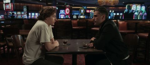 In 'The Card Counter,' professional gambler William Tell (Oscar Isaac) meets a restless young man (Tye Sheridan) with unexpected connections to his troubled past.