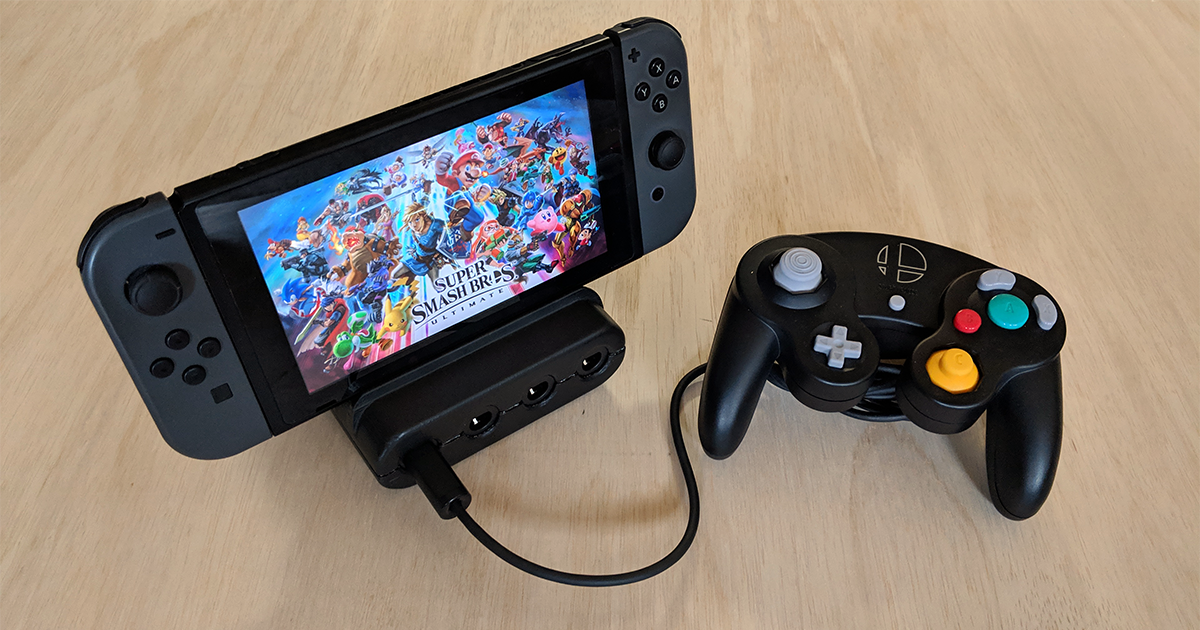 This GameCube Controller Adapter for Switch Is Almost