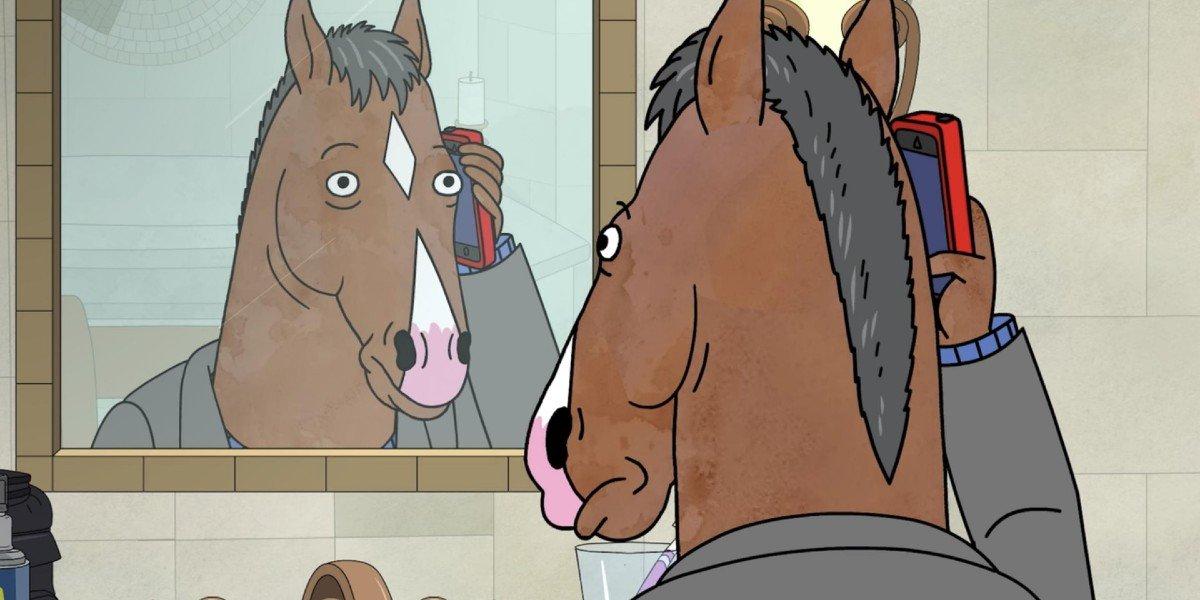 Screenshot from Netflix's BoJack Horseman