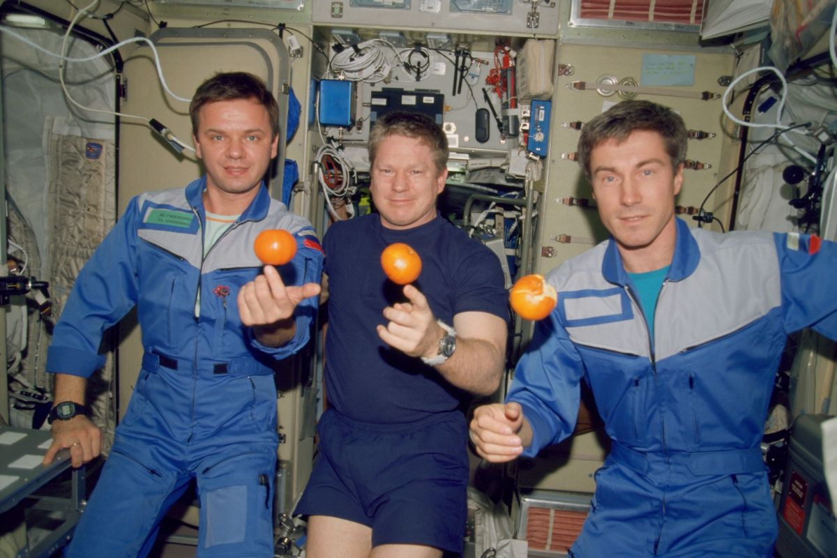 The International Space Station's 1st crew recalls a Halloween launch 20 years ago