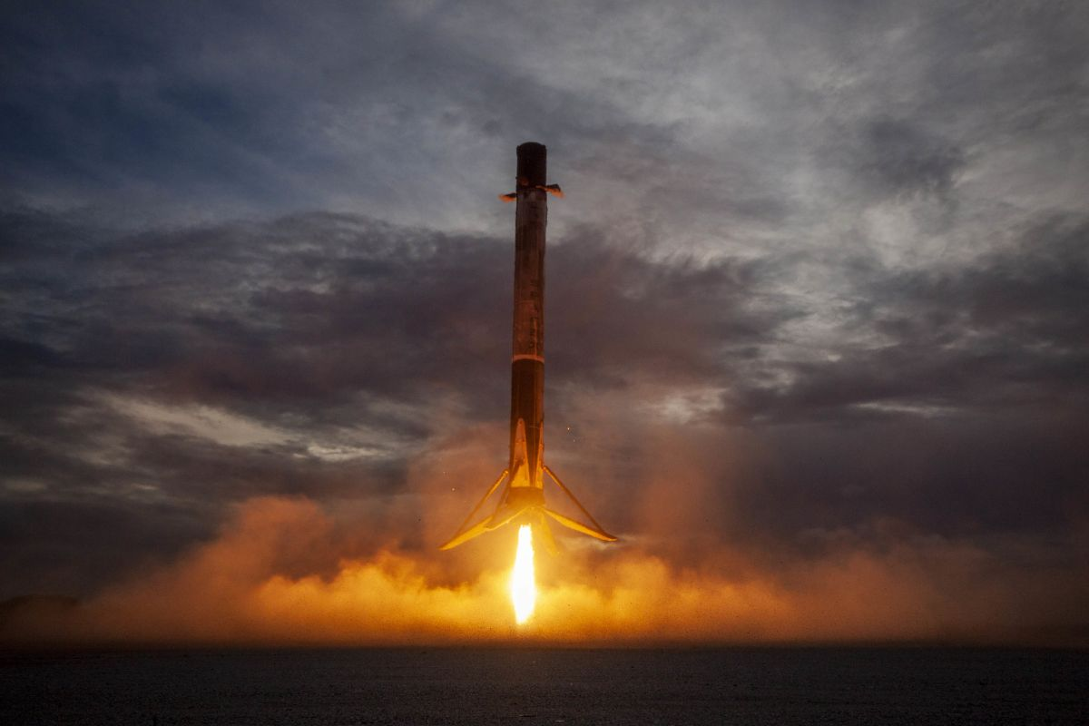 Hitch a ride to space (and back) on a SpaceX Falcon 9 in this awesome video