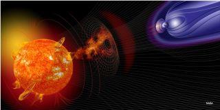 solar storm blackout