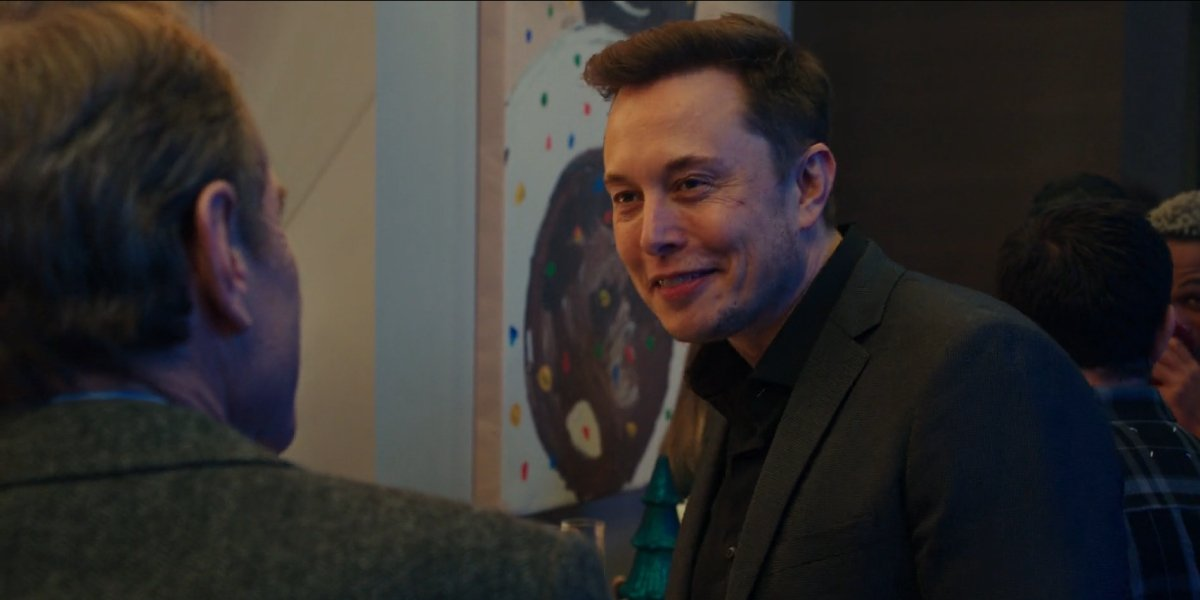 Bryan Cranston and Elon Musk in Why Him?