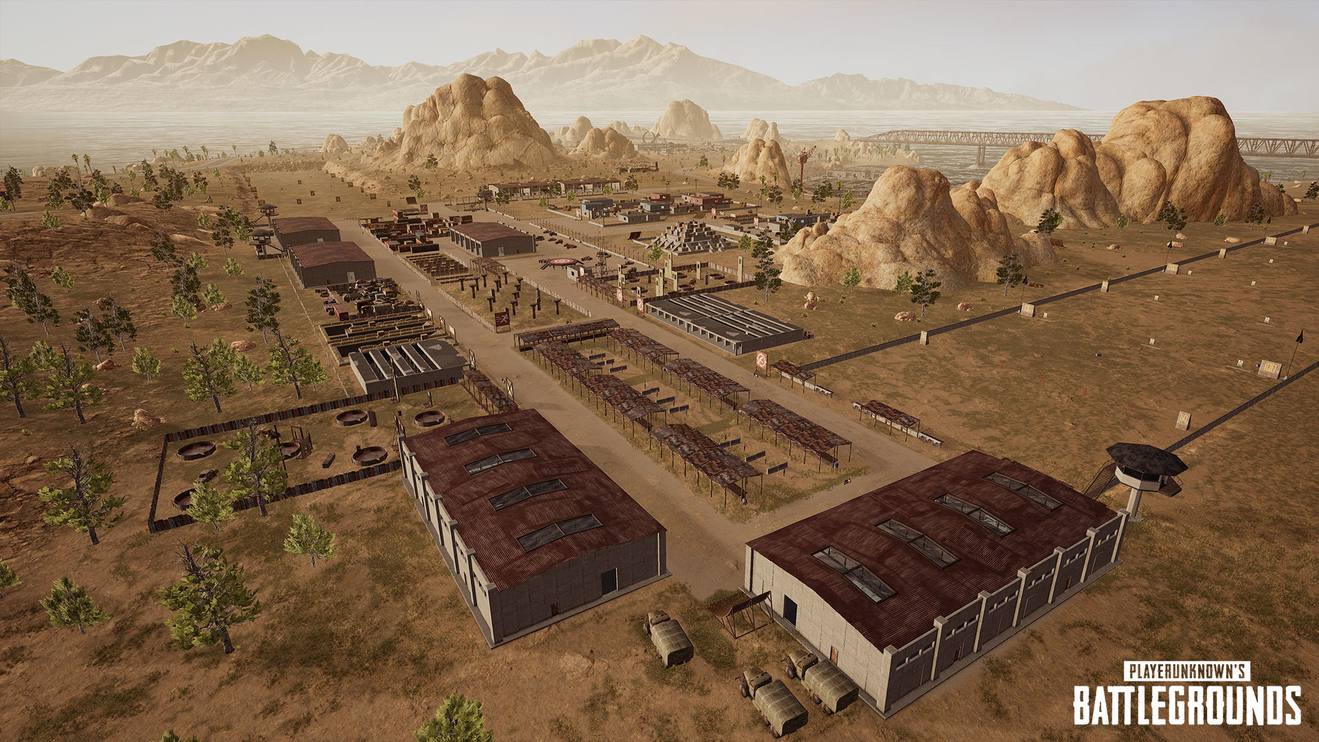 Pubg S Training Mode Will Feature A Shooting Range Racetracks