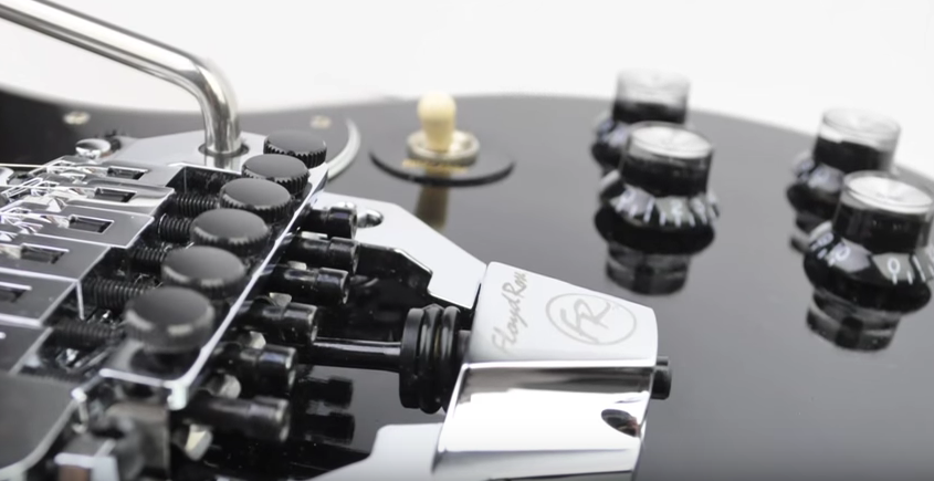 See the Floyd Rose FRX Surface Mount Tremolo System in Action | Guitarworld