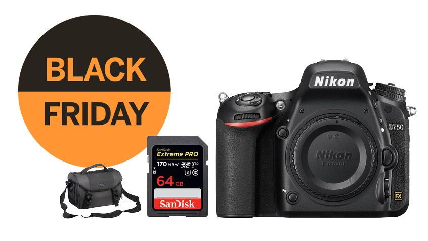Save $700 on the Nikon D750 – with free bag and memory card!