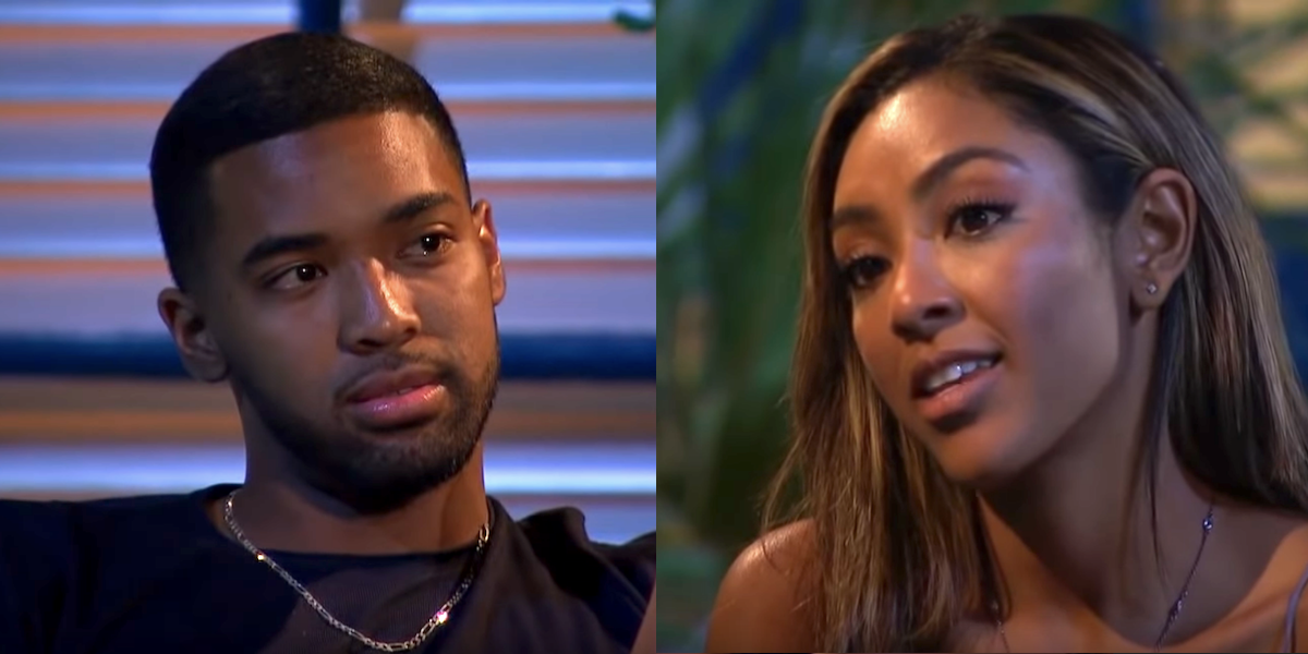 The Internet Has Thoughts After Tayshia And Ivan's Emotional And Candid Bachelorette Conversation