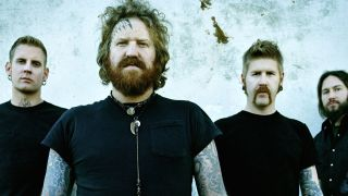 Brent Hinds with Mastodon
