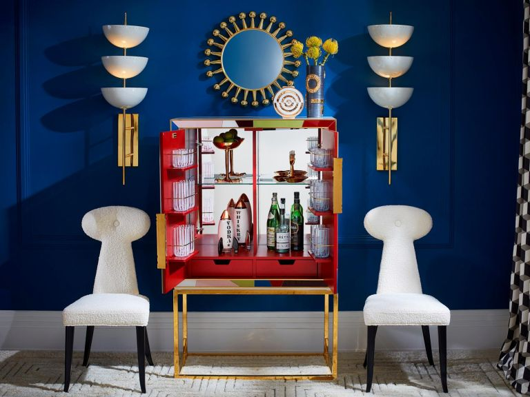 Home Bar Ideas How To Make Christmas Merry By Jonathan Adler Livingetc