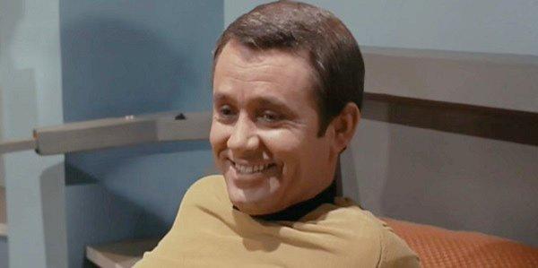 Captain Christopher Roger Perry Star Trek CBS