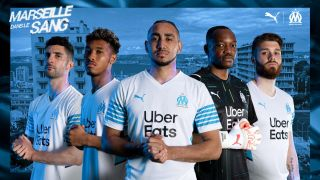 Olympique Marseille new home kit