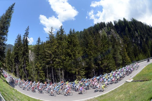 Dolomites, Giro d'Italia 2012, stage 17