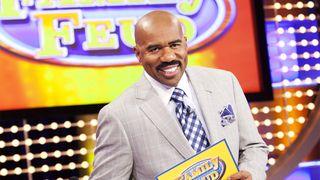 Steve Harvey hosts Debmar-Mercury's game show 'Family Feud'