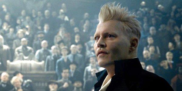Fantastic Beasts: The Crimes of Grindelwald, Johnny Depp