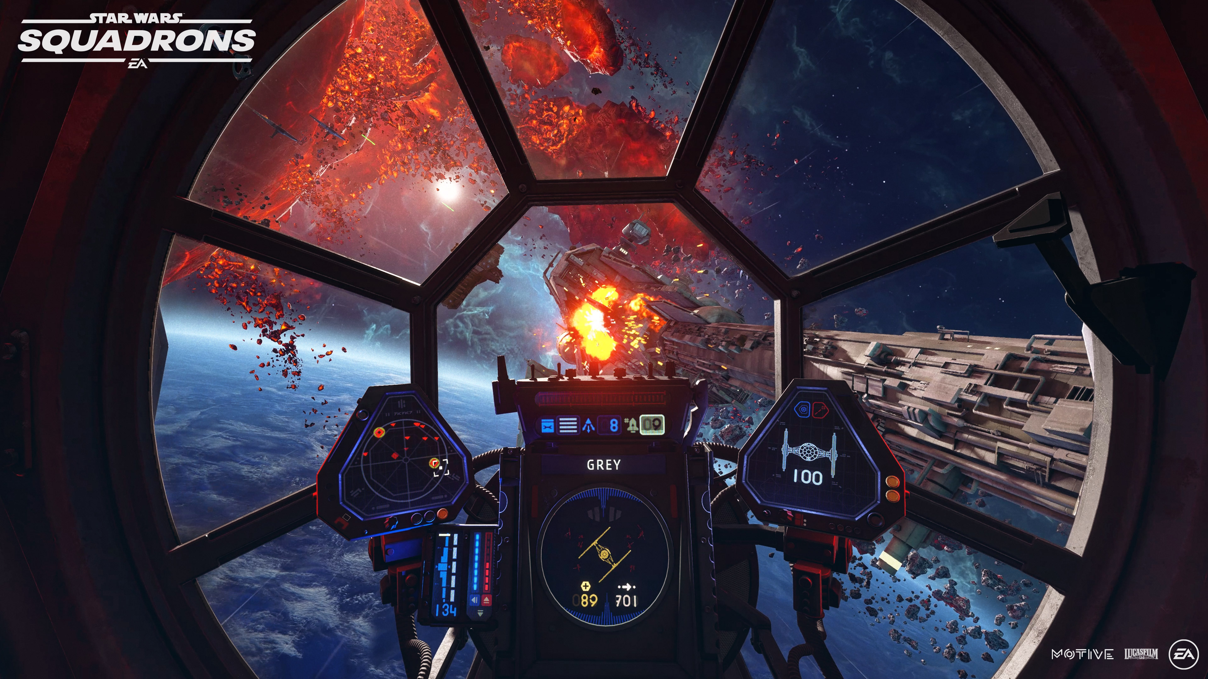 Star Wars: Squadrons gameplay trailer reveals a true X-Wing successor thumbnail