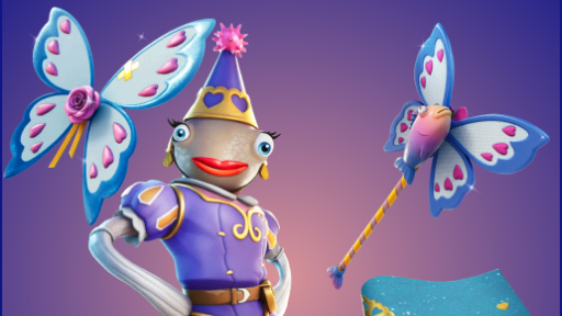 Leaked images of the Princess Felicity Fortnite Skin