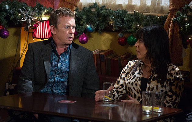 EastEnders Kat Moon tells Alfie Moon a secret